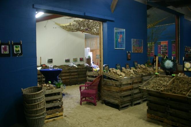 Zweiter Raum mit mehr Zwiebeln