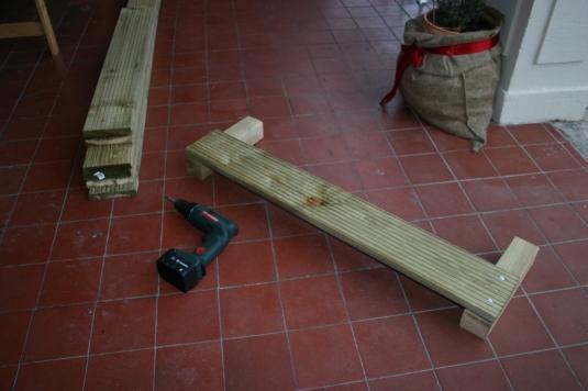einzelne Planken